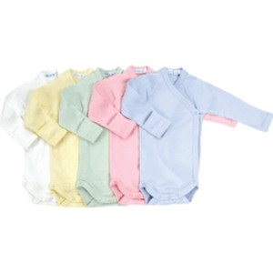 PASTEL COLOR ONESIE LONG SLEEVE Organic Baby Clothes